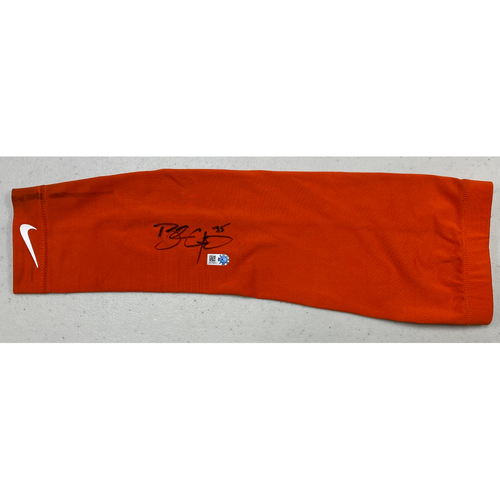 Photo of 2020 Black Friday Sale - #35 Brandon Crawford Autographed Orange Nike Arm Sleeve