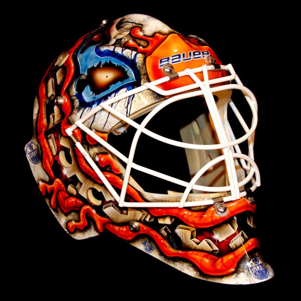 Viktor Fasth #35 - Autographed 2014-15 Edmonton Oilers ...