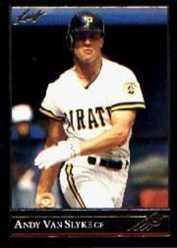 Photo of 1992 Leaf Black Gold #43 Andy Van Slyke