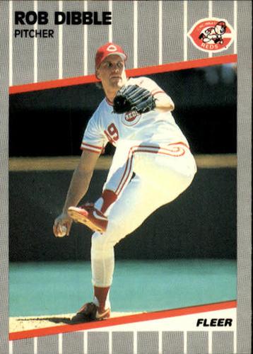Photo of 1989 Fleer #160 Rob Dibble RC