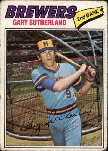 Photo of 1977 Topps #307 Gary Sutherland