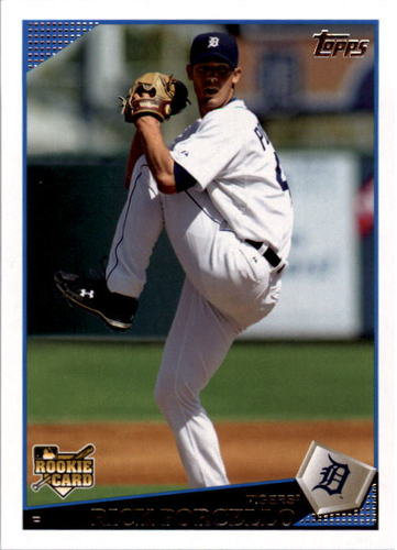 Photo of 2009 Topps #658 Rick Porcello Rookie Card