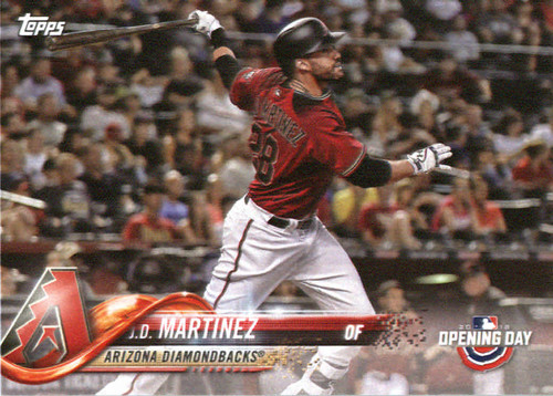 Photo of 2018 Topps Opening Day #10 J.D. Martinez