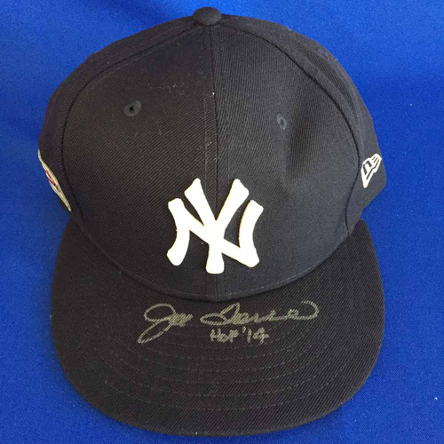 Photo of UMPS CARE AUCTION: Joe Torre Signed Yankees Hat - Size 7 1/2 - Not MLB Authenticated
