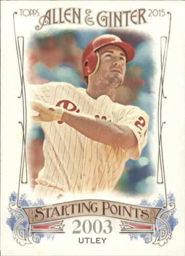 Photo of 2015 Topps Allen and Ginter Starting Points #SP69 Chase Utley