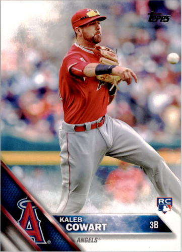 Photo of 2016 Topps #325 Kaleb Cowart RC
