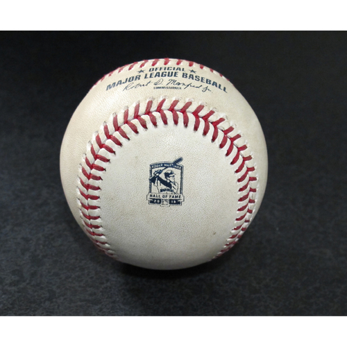 Photo of Game-Used Baseball - Pitcher: Charlie Morton, Batter: J.P. Crawford (Ground Out) - 8/10/19 vs. TB