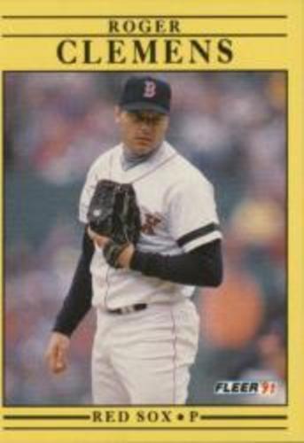 Photo of 1991 Fleer #90 Roger Clemens