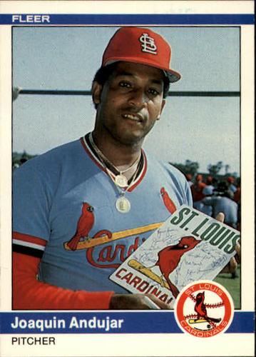 Photo of 1984 Fleer #319 Joaquin Andujar