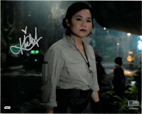Kelly Marie Tran As Rose Tico 8x10 AUTOGRAPHED IN 'Silver' INK PHOTO