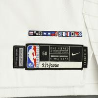 Paul George - Los Angeles Clippers - Game-Worn Association Edition Jersey - Double-Double - 2019-20 NBA Season