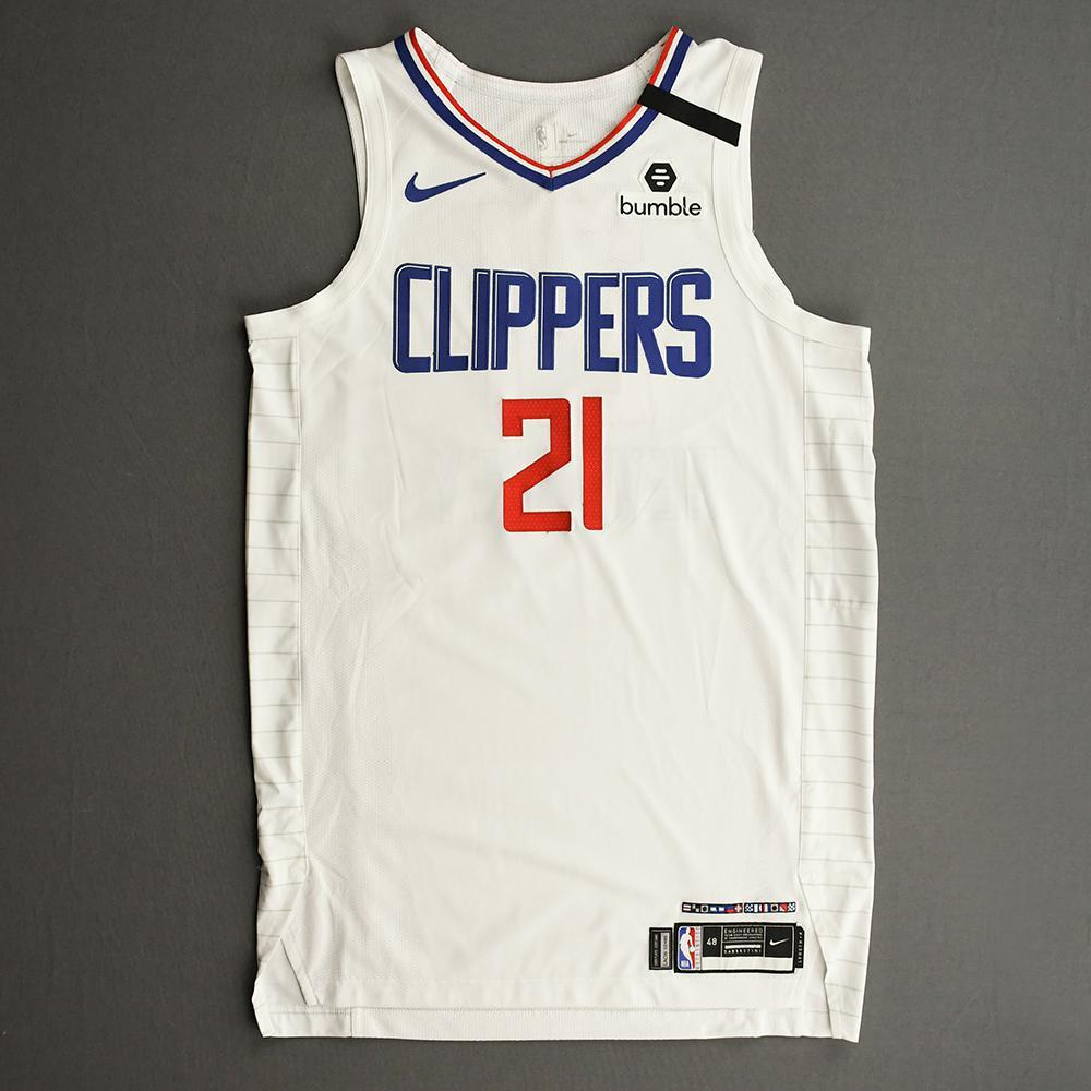 Patrick Beverley - Los Angeles Clippers - Game-Worn Association Edition Jersey - 1 of 2 - 2019-20 NBA Season Restart