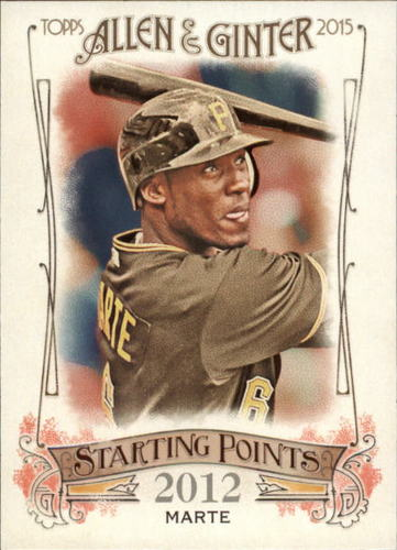 Photo of 2015 Topps Allen and Ginter Starting Points #SP70 Starling Marte