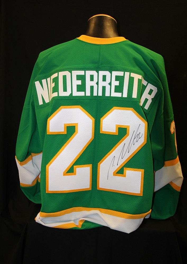 MN Wild #22 Nino Niederreiter Signed, Player Worn Northstars Jersey