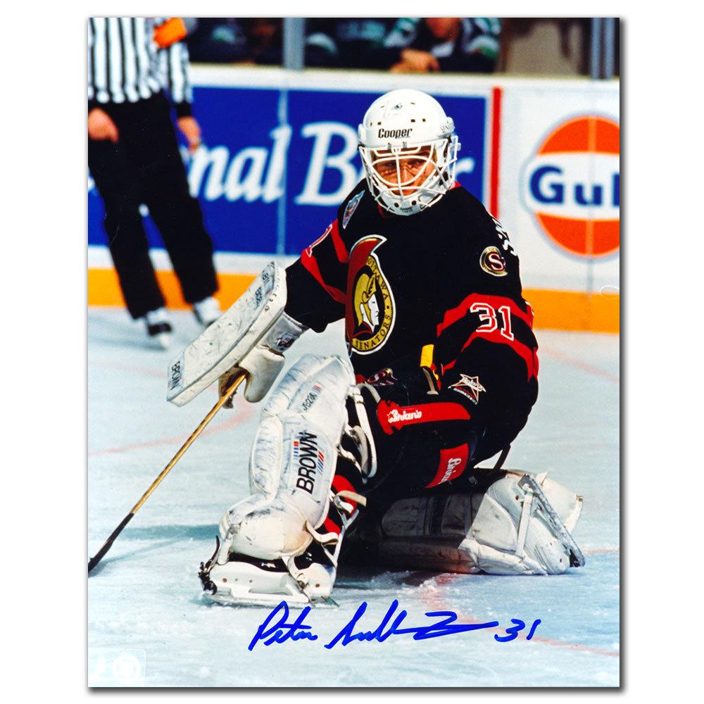 Peter Sidorkiewicz Ottawa Senators GLOVE SAVE Autographed 8x10