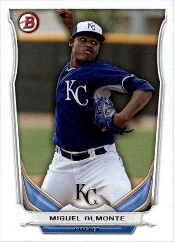 Photo of 2014 Bowman Draft Top Prospects #TP71 Miguel Almonte