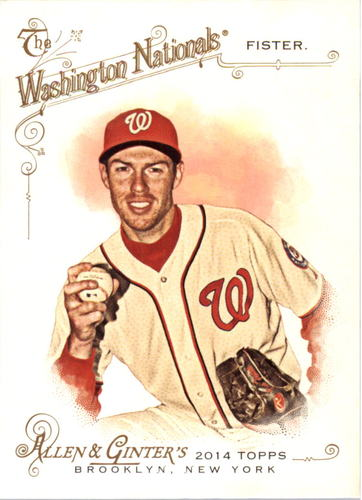 Photo of 2014 Topps Allen and Ginter #212 Doug Fister