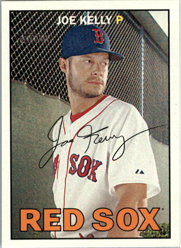 Photo of 2016 Topps Heritage #402 Joe Kelly -- Red Sox post-season