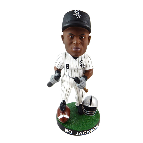 Bo Jackson Bobblehead - Orders placed on or after December 21, 2017 will not be shipped until January 3, 2018.