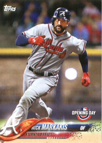 Photo of 2018 Topps Opening Day #12 Nick Markakis