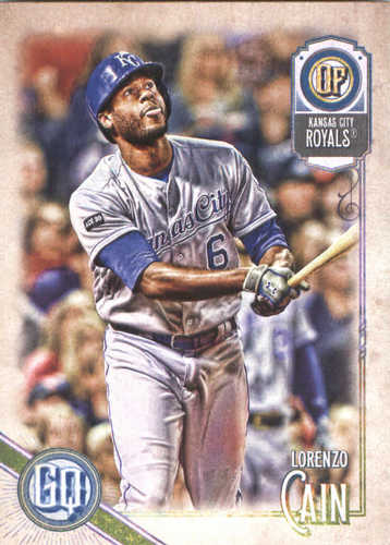 Photo of 2018 Topps Gypsy Queen #73 Lorenzo Cain