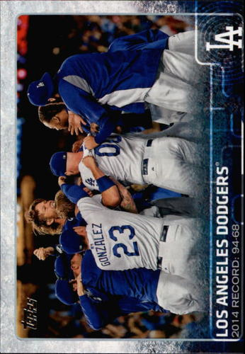 Photo of 2015 Topps #478 Los Angeles Dodgers