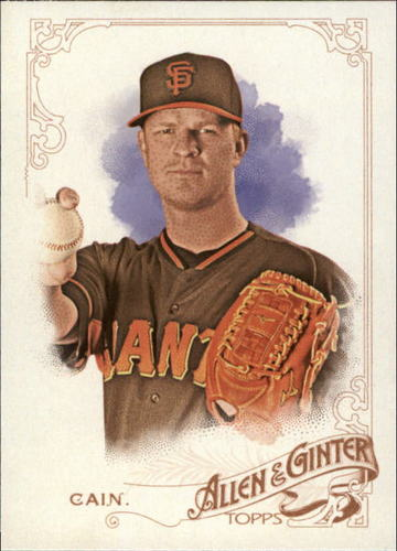 Photo of 2015 Topps Allen and Ginter #332 Matt Cain
