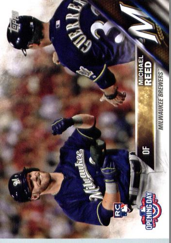 Photo of 2016 Topps Opening Day #OD109 Michael Reed RC