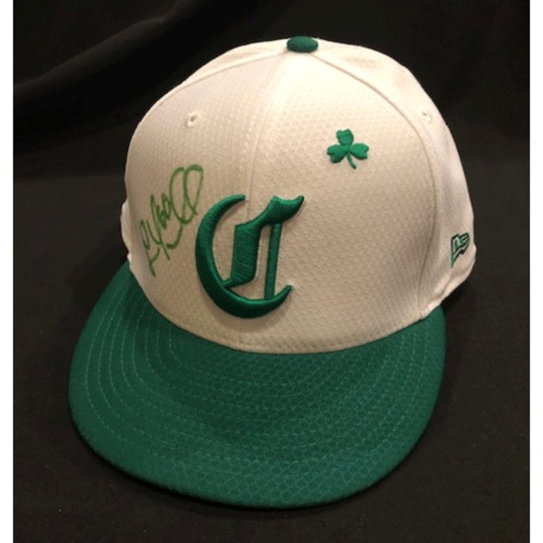 Photo of Lee Tunnell -- Autographed & Game-Used Cap -- 2019 St. Patrick's Day