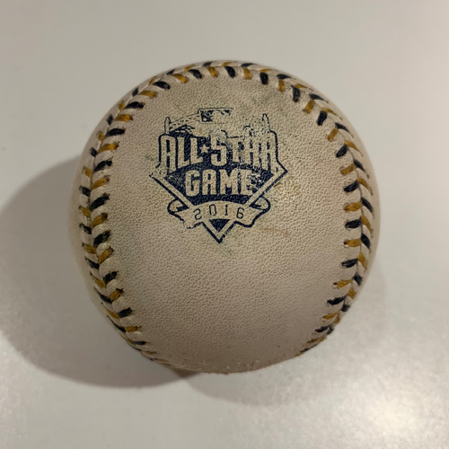Photo of 2016 All Star Game - Game Used Baseball - Batter: Wil Myers Pitcher: Jose Quintana -Double