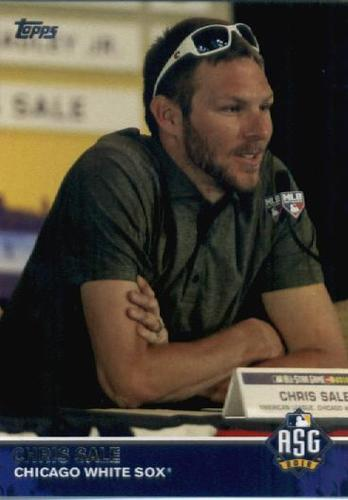 Photo of 2016 Topps Update All-Star Game Access #MLB6 Chris Sale