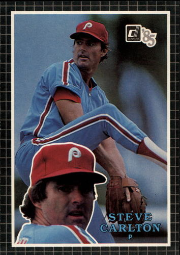 Photo of 1985 Donruss Action All-Stars #55 Steve Carlton