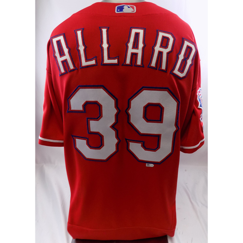 Photo of Red Team-Issued Jersey - Kolby Allard - 10/8/19