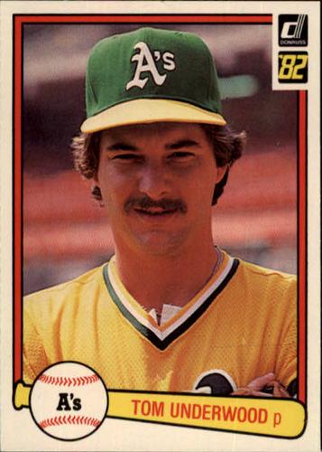 Photo of 1982 Donruss #323 Tom Underwood