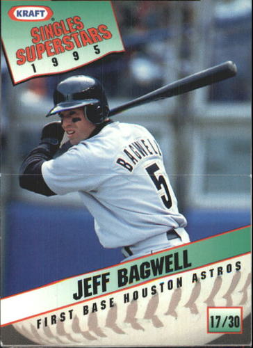 Photo of 1995 Kraft #17 Jeff Bagwell