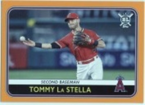 Photo of 2020 Topps Big League Orange #12 Tommy La Stella