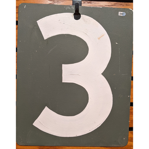 Photo of Fenway Park September 19, 2019 Game Used Green Monster Scoreboard #3