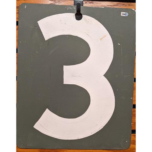 Fenway Park September 19, 2019 Game Used Green Monster Scoreboard #3
