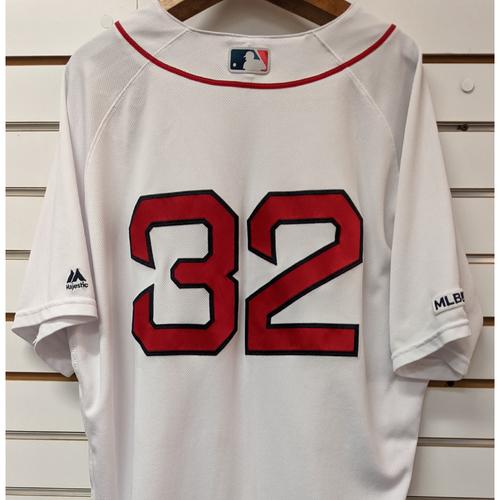 Matt Barnes #32 Game Used Home White Jersey