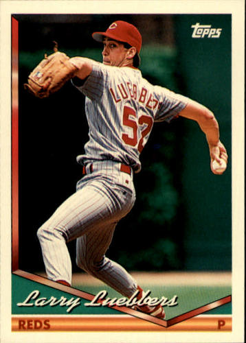 Photo of 1994 Topps #221 Larry Luebbers RC