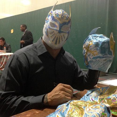 SIGNED Sin Cara Replica Mask