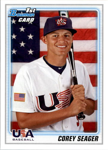 Photo of 2010 Bowman Draft Prospects #BDPP108 Corey Seager Pre-Rookie Card