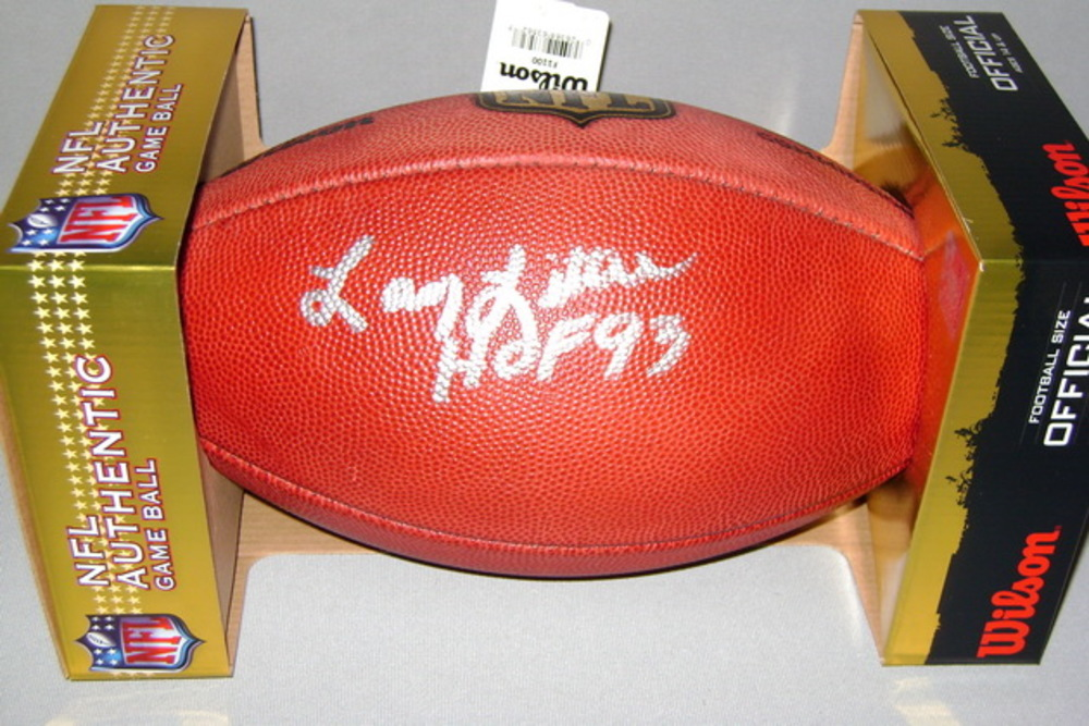 NFL - DOLPHINS LARRY LITTLE SIGNED AUTHENTIC FOOTBALL