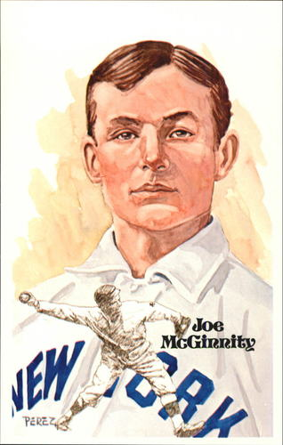 Photo of 1980-02 Perez-Steele Hall of Fame Postcards #45 Joe McGinnity  -- HOF Class of 1946