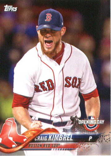 Photo of 2018 Topps Opening Day #19 Craig Kimbrel