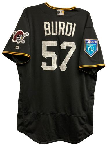 Photo of Nick Burdi Game-Used 2018 Spring Training Jersey