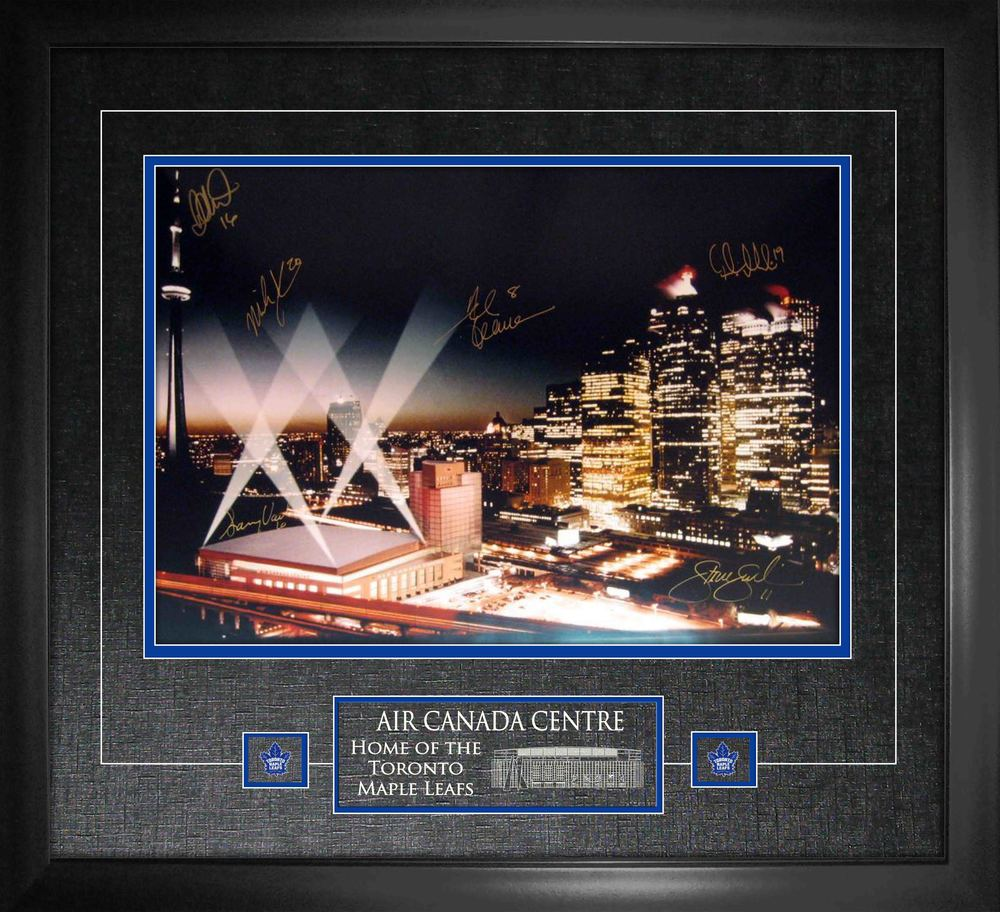 Air Canada Centre Signed 14x20 Signed by 6 players