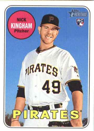 Photo of 2018 Topps Heritage #651 Nick Kingham RC