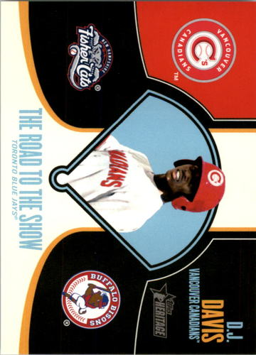 Photo of 2013 Topps Heritage Minors Road to the Show #DDA D.J. Davis