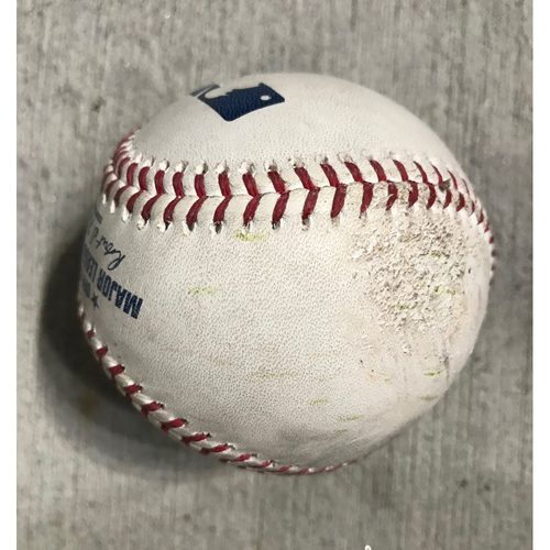 Photo of Manny Machado Player Collected Home Run Baseball - 5/1/2019